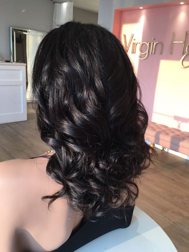 Cambodian Wavy Frontal Wig Unit